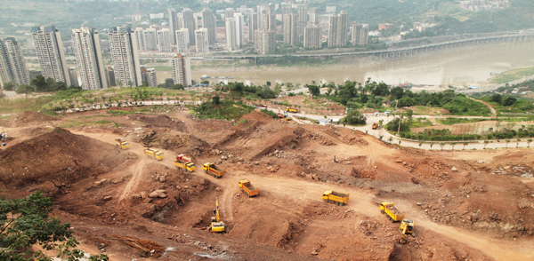 860 Million Square Feet of Retail, 320 Million Square Feet of New Office Space to be Built in China by 2020