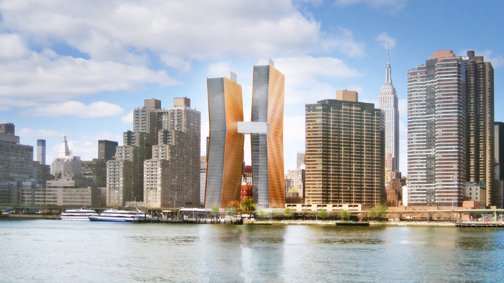 Work Set to Begin on New York's Dancing Towers