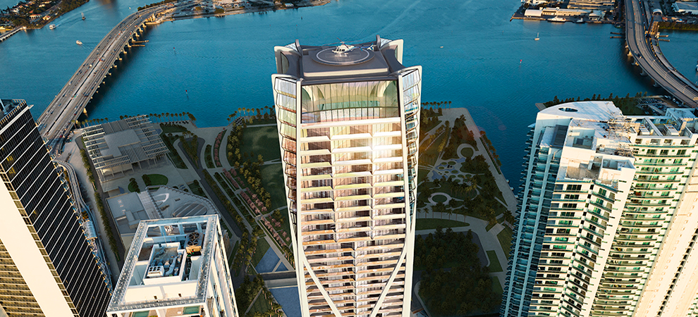 Miami's One Thousand Museum Tower Enjoys $1 Million an Hour Sales Rate