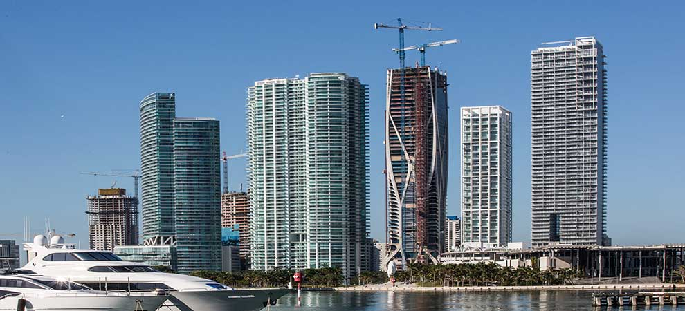 Miami's Most Architecturally Complex Condo Tower Tops Out