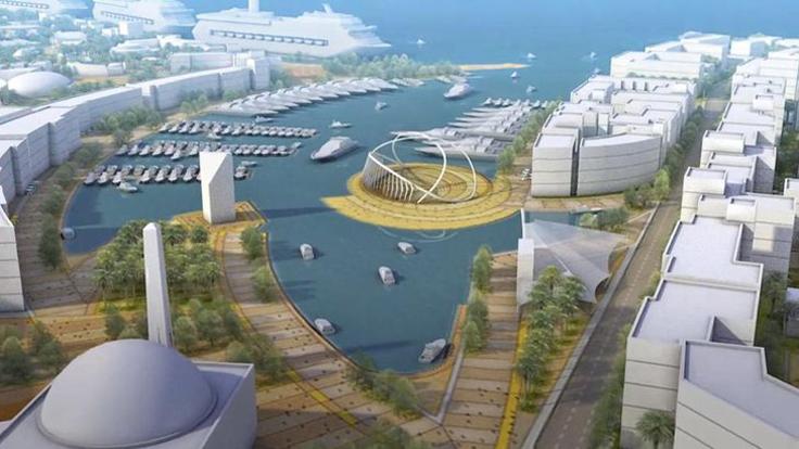 Qatar Dreams of $5.5 billion Island Project