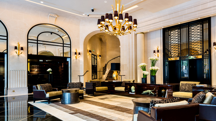 iconic art deco hotel reopens in paris world property journal global news center. Black Bedroom Furniture Sets. Home Design Ideas