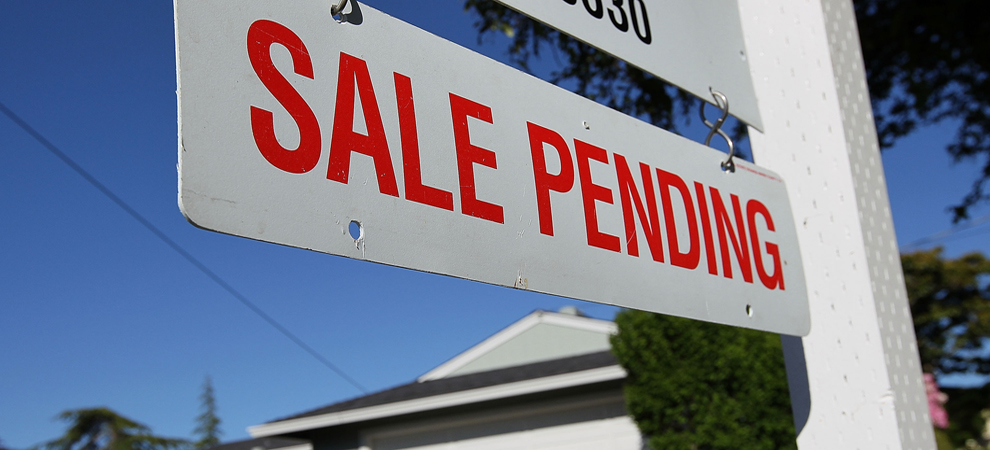 Pending Home Sales Slip in July