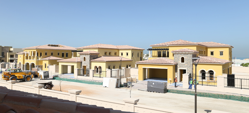 Abu Dhabi's Saadiyat Beach Villas on Track for June Completion