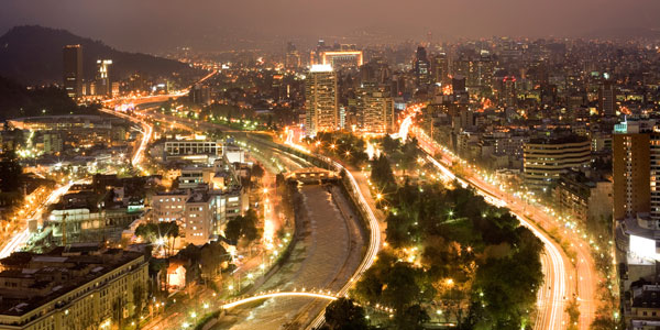 Santiago Mini-Malls Grow Sharply