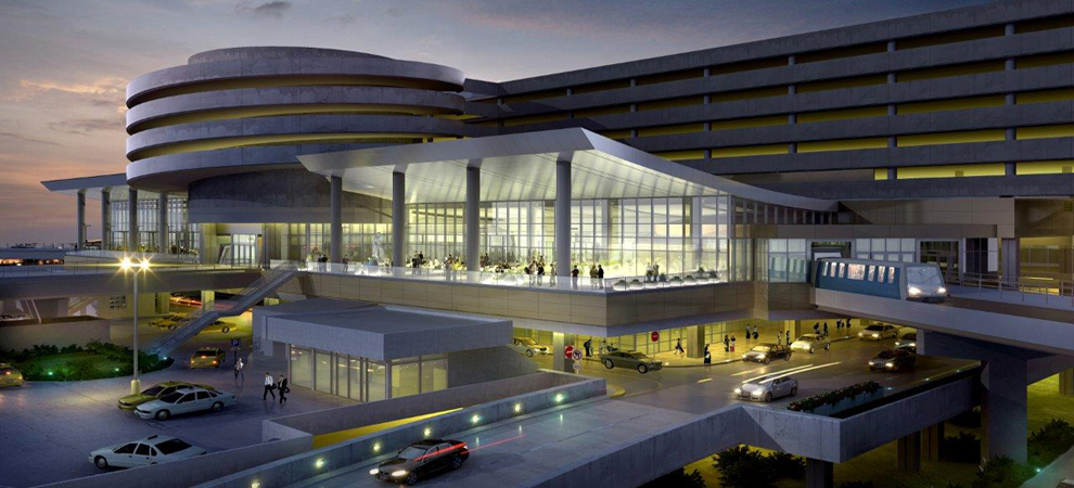 Tampa international airport receiving 122 million for United international decor bahrain