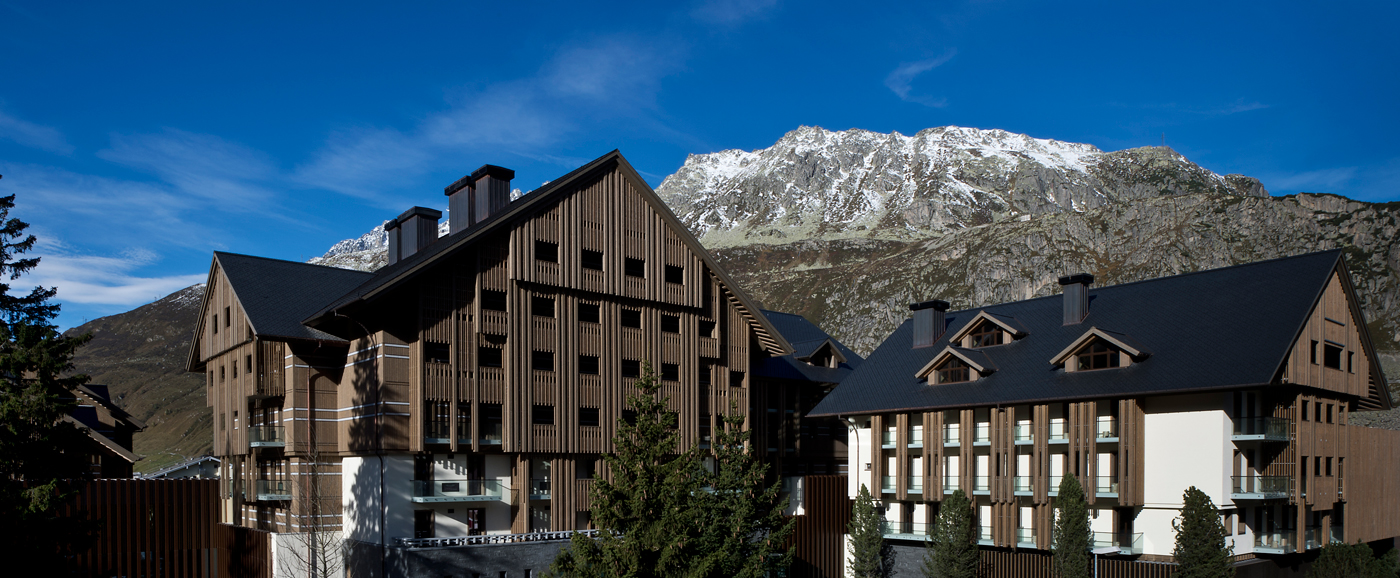 andermatt switzerland 39 s new five star resort takes shape