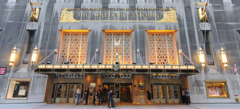 New York's Famed Waldorf Astoria Sells to Chinese for $1.95 Billion