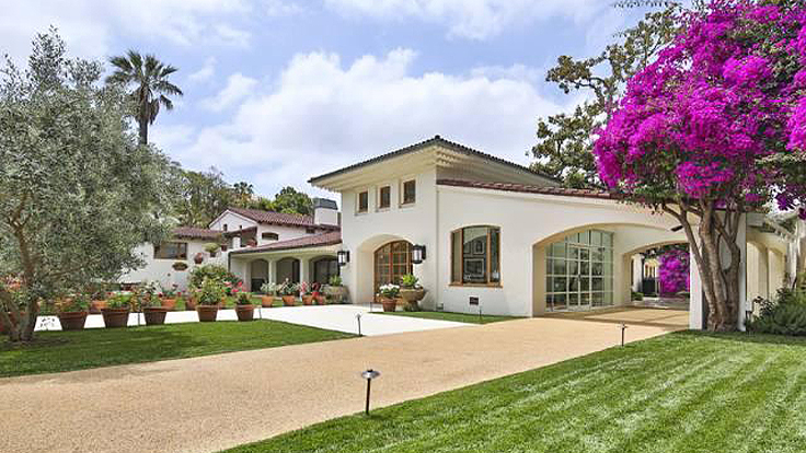 Bruce Willis Selling Beverly Hills Hacienda