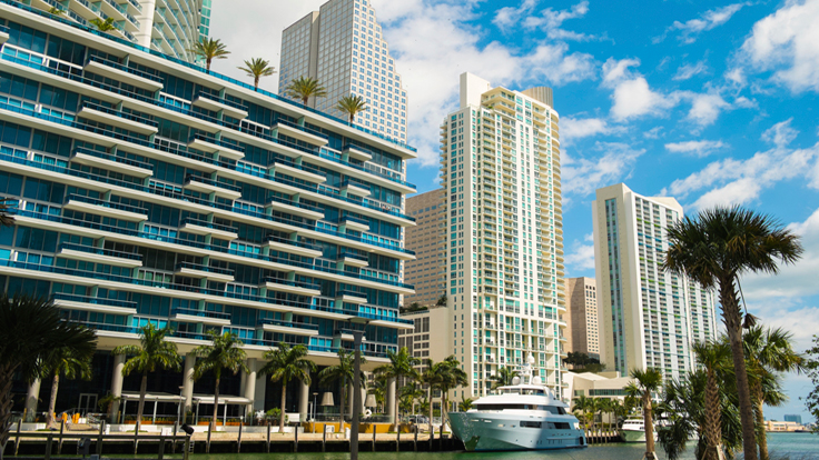 Miami Reports Surge in Colombian, Italian Buyers