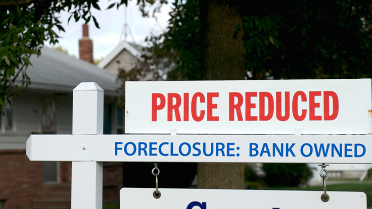 US Foreclosures Continue to Slide