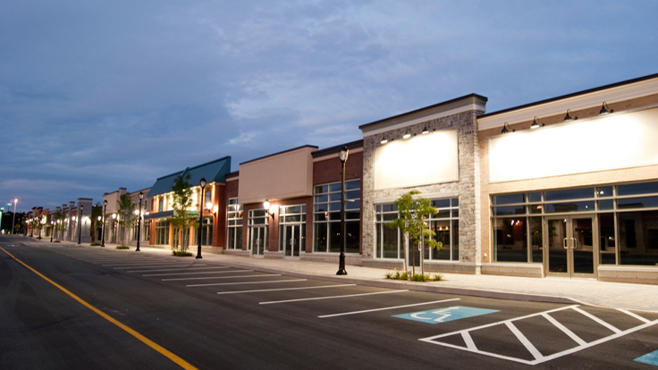 Slight Improvement for U.S. Strip Mall Vacancies
